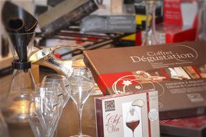 Tire-bouchons, Coffrets d'oenologie, Accessoires à vin, Seaux à champagne, Accessoires à cocktails