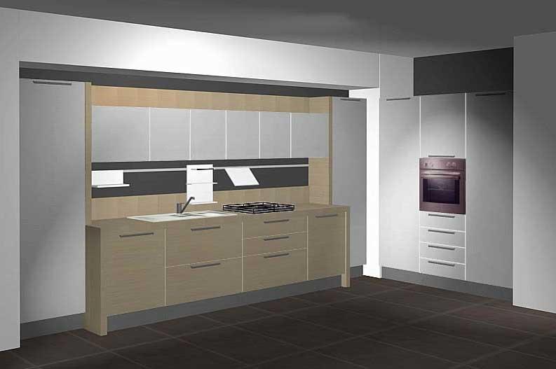 Conception de cuisine en 3D