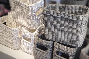 Boîtes & paniers, Poubelles de salle de bain, Porte-serviettes, Paniers à linge
