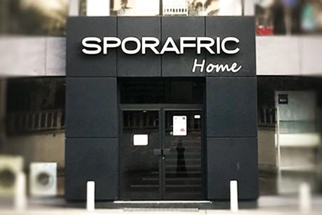 Notre magasin Sporafric Home Avenue Charles de Gaulle à Pointe-Noire